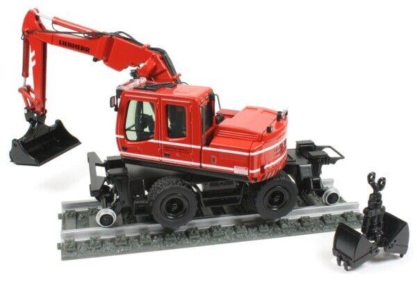 NZG 803 03 LIEBHERR A900 C ZW Road Rail Wheel Excavator  VERHOEVEN  1 50  NEW