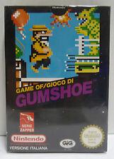 GUMSHOE - ZAPPER SERIE - NES GIG ITA NINTENDO NES PAL A VERSION BOXED RARE