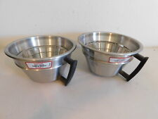 Lot Of 2 Curtis Wc 3311 Coffee Brew Cone Withhandle Stainless Steel 875 Gem 3