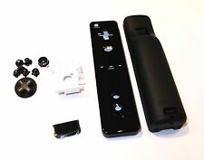 Black Nintendo Wii Wiimote Remote Controller Replacement Casing Housing