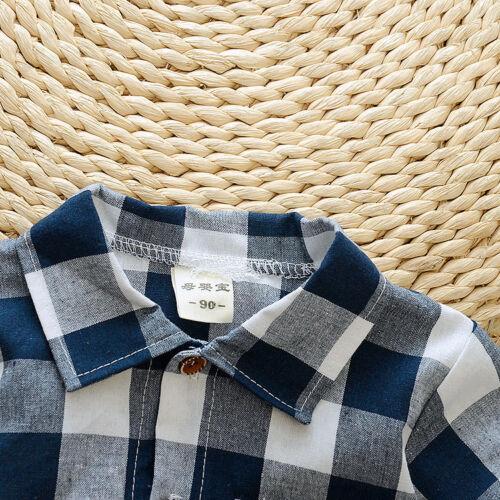 2pc baby boys clothes boys summer cotton shirt+short pants outfits /& sets