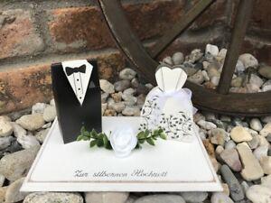 Details Zu Geldgeschenk Zur Silberhochzeit Brautpaar Geschenk Hochzeitsgeschenk Wedding