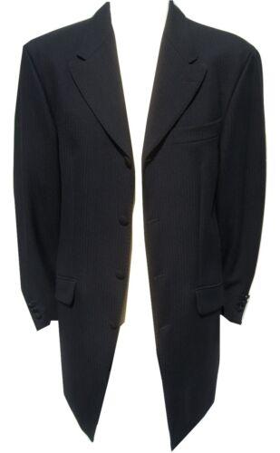 MENS BLACK PRINCE EDWARD COAT WEDDING 3//4 DRAPE JACKET GOTHIC GOTH STEAMPUNK