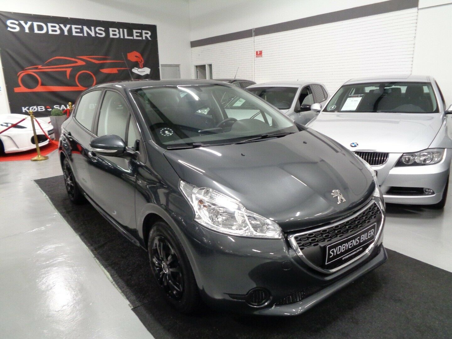 Peugeot 208 1,2 VTi Active 5d - 63.500 kr.