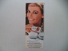 advertising Pubblicità 1981 SAPONE LUX e NATALIE WOOD