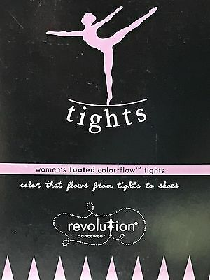 Womens Revolution Dancewear Convertible Tights S M L XL Prima Pink Black Drk Tan