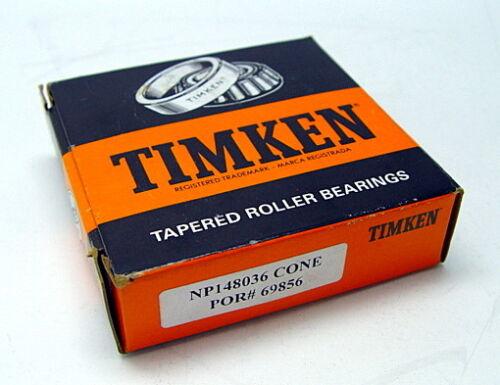 Timken NP148036 CONE POR# 69856 Tapered Roller Bearing