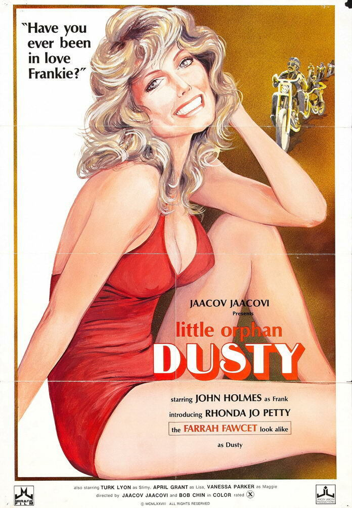 G4362 Little Orphan Dusty John Holmes Movie VHS Vintage Laminated Poster UK