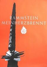 RAMMSTEIN POSTER MEIN HERZ BRENNT #2