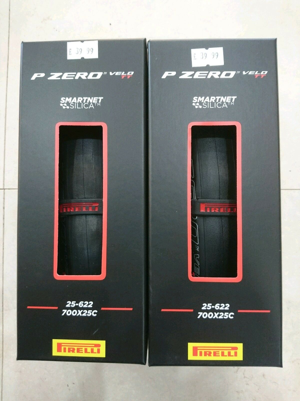 Pirelli P zero velo TT road racing bicycle tyres 700 X 25c PAIR 2 tyres NEW