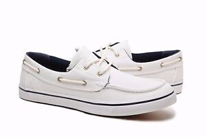 11d4319c803d Image is loading Timberland-Mens-Boat-Shoes-6732A-White-Canvas