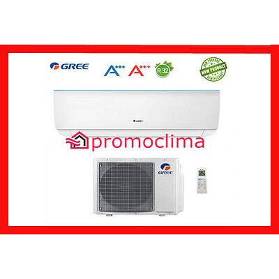 CLIMATIZZATORE CONDIZIONATORE GREE INVERTER BORA 9000 BTU CLASSE A++ R32 NEW
