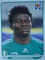 Panini 142 Obafemi Martins Nigeria FIFA WM 2010 Südafrika