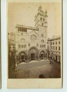 Vintage-CDV-Cathedral-of-San-Lorenzo-Genoa-Italy-by-Alfredo-Noack