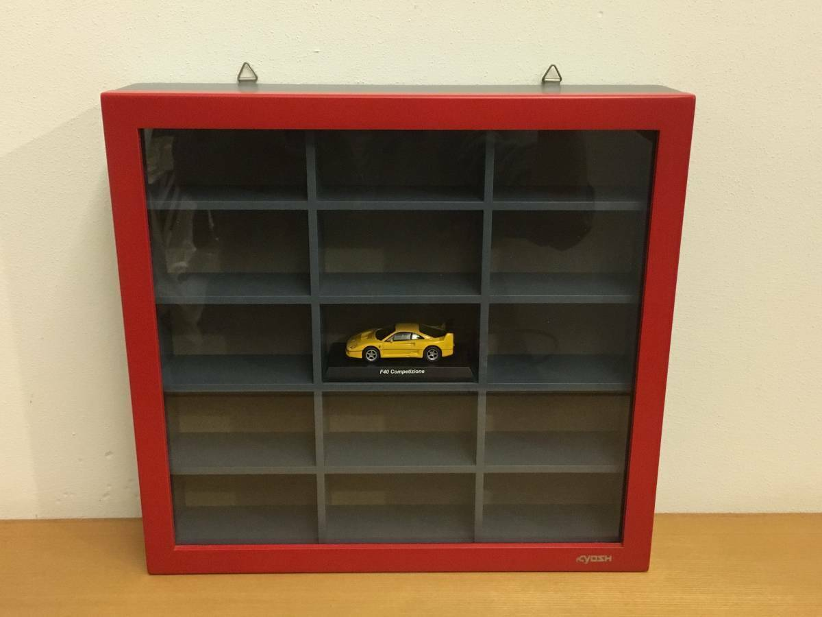 Original minicar collection case for KYOSHO 1 64 display case KYOSHO