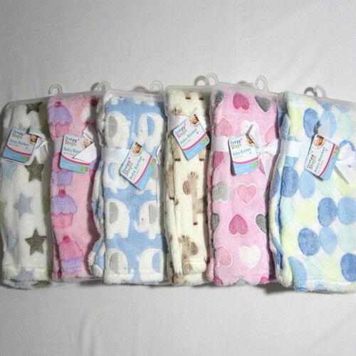 Bébé bébés vêtements doux animaux formes rose bleu blanc crème couverture wrap