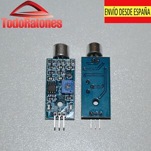 Details about Module Sensor Detector Sound LM-393 Arduino Sensor Acoustic  Car Robotics