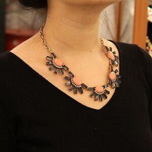 Necklace-Sun-Grey-Rose-Retro-Modern-Original-Evening-Marriage-Gift-QT-9
