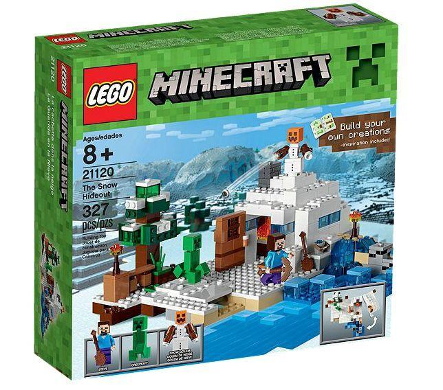 LEGO ® Minecraft ™ 21120 Cachette dans la neige NOUVEAU neuf dans sa boîte the Snow Hideout NEW En parfait état, dans sa boîte scellée Boîte d'origine jamais ouverte