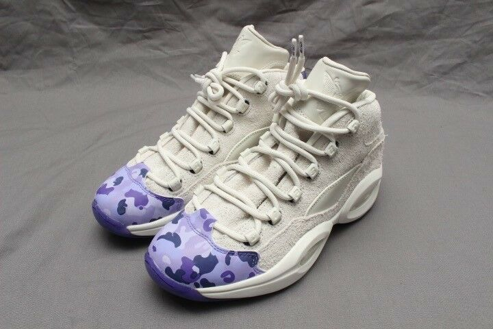 REEBOK QUESTION MID CAMRON - - - CHALK-LUSH ORCHID-PURPLE DV4774 cd7927