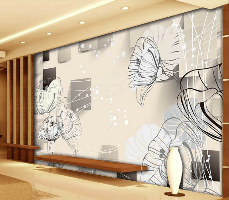 Cute Butterfly 3D Full Wall Mural Photo Wallpaper Printing Home Kids Decoration