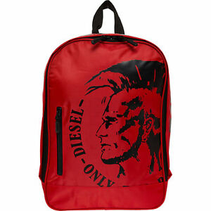 DIESEL-Backpack-Red-with-Laptop-Sleeve-40-x-27-x-12-cm