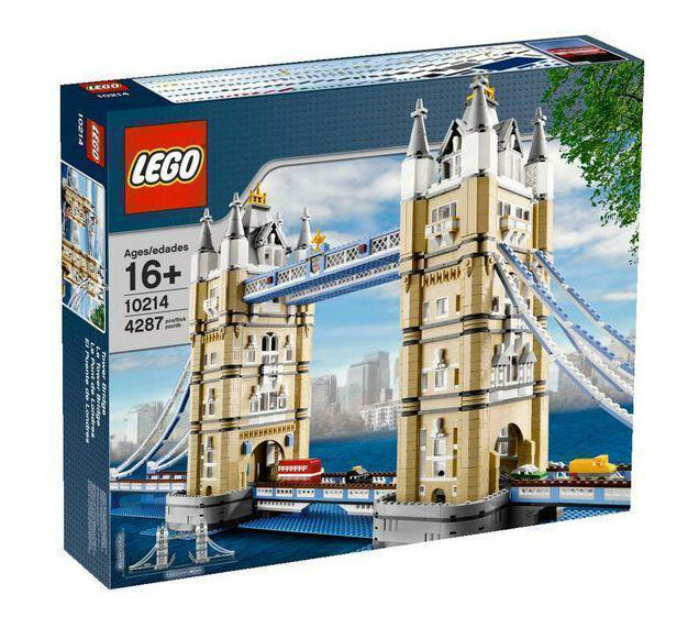 Lego Exclusives y tesoros Tower Bridge (10214) Nuevo Nunca Abierto