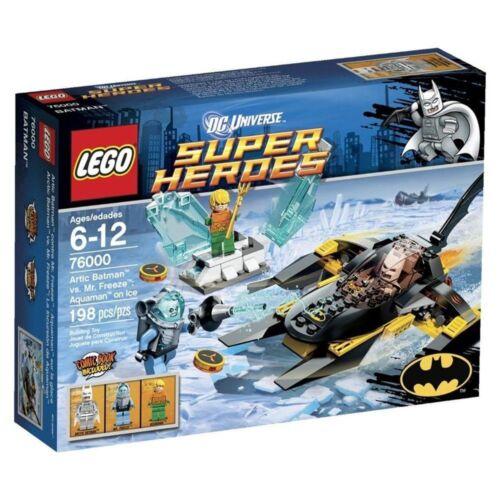 FREEZE AQUAMAN ON ICE lego legos set NEW super heroes 76000 ARCTIC BATMAN VS MR