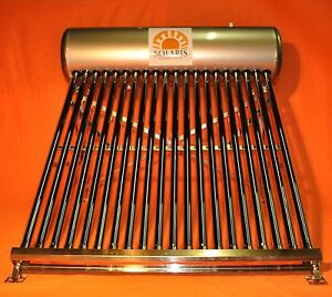 Vacuum Tube Solar Collector With Tank Ebay