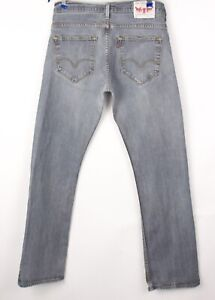 Levi's Strauss & Co Hommes 506 Slim Jeans Extensible Taille W34 L32 BCZ250