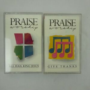 Praise-Worship-Give-Thanks-All-Hail-King-Jesus-Cassette-Hosanna-Music