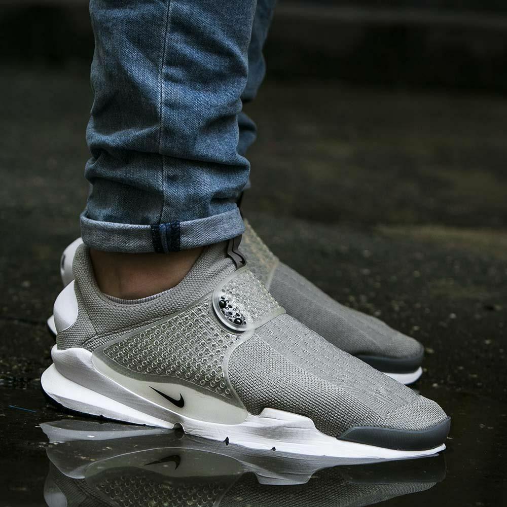 Para Hombre Nike Calcetín Dart kjcrd Talla 12 EUR 47.5 (819686 002) medio gris negro
