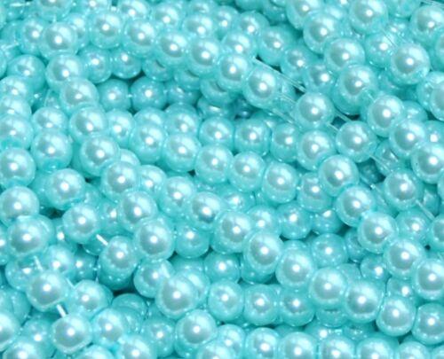 6 mm Qualité Verre Perle Perles /> 150 pcs 8 mm ( /> 100 pc ) /& Option Pour Couleurs