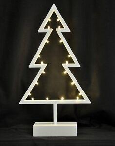 albero di natale stilizzato con luci led addobbi decoro decorazioni