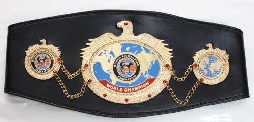 WKF WORLD KICKBOXING FEDERATION CHAMPION BELT ADULT SIZE REPLICA