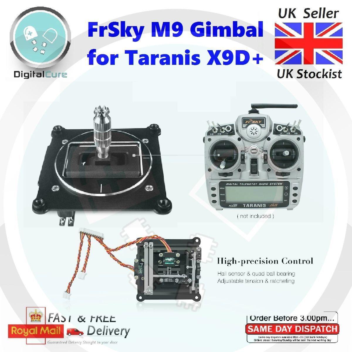 Pair of FrSky M9 Hall Sensor Gimbal For Taranis X9D & X9D Plus X9D+