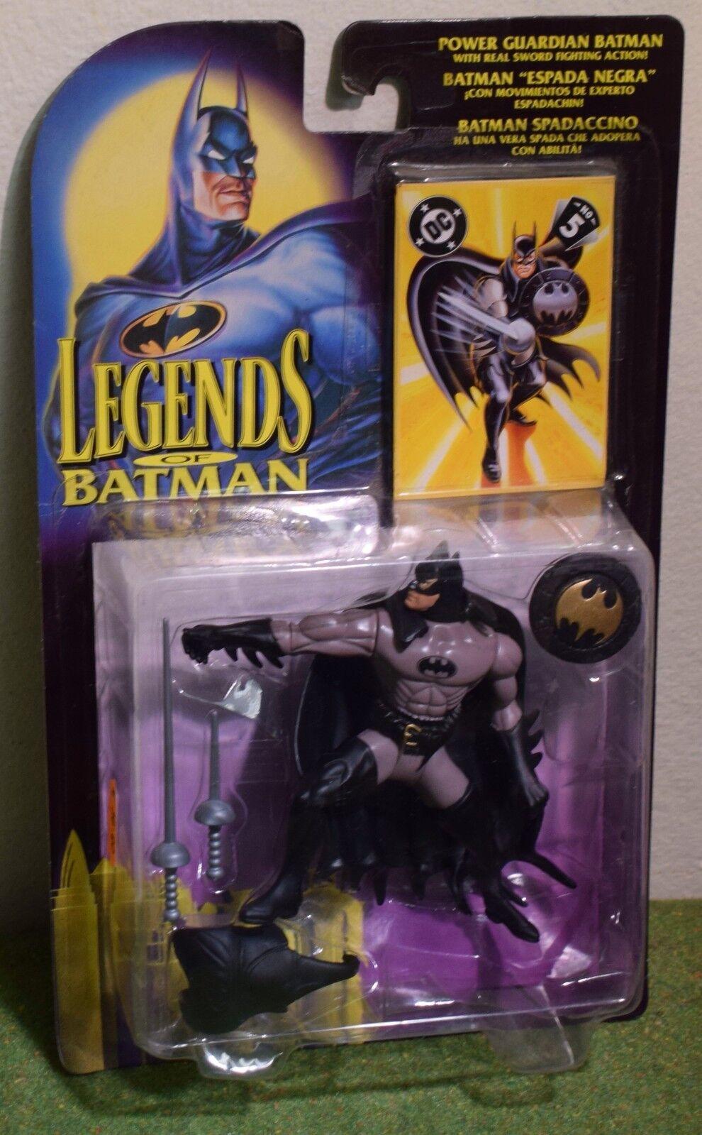 KENNER LEGENDS OF BATMAN POWER GUARDIAN BATMAN ACTION FIGURE