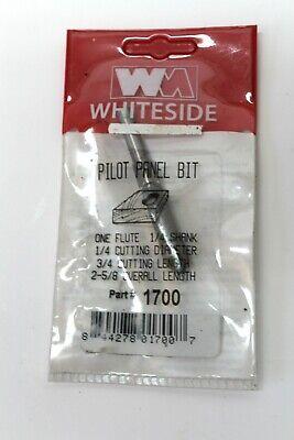 """1 Flute Pilot Panel Bit 1/4"""" Shank And Cutting Diameter 3/4"""" Cutting Length 100% Origineel"""