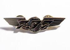 Boeing 737 Wings Pin Gold Pilot, Flight Attendant uniform badge gift 55mm