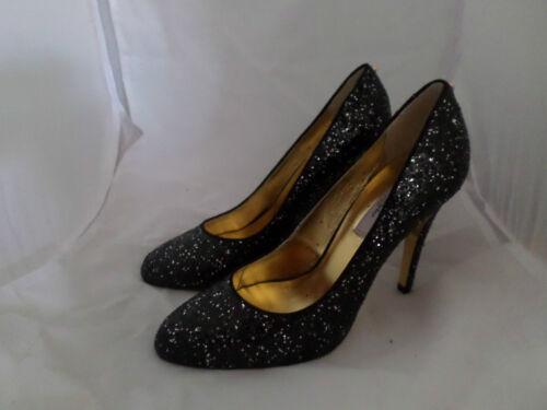 37 4 Glitter Js06 95 Black Heels 48 Baker Eu Salex £ Rrp Cener Silver Ted Uk wRqFUanv7x