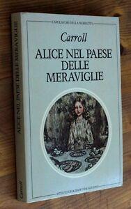 LEWIS-CARROLL-Alice-nel-paese-delle-meraviglie-Attraverso-lo-specchio-1982