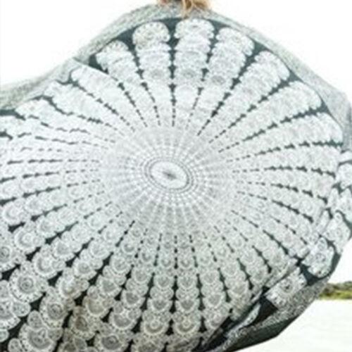 Indian Bohemian Mandala Tapestry Beach Hippie Throw Yoga Mat Towel Bedspread