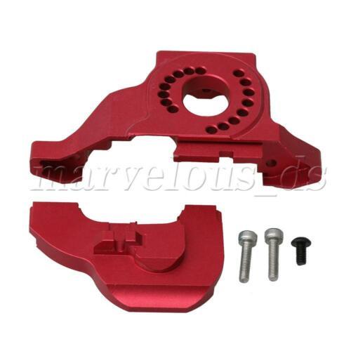 Red Aluminum Alloy RC1:10 Motor Mount Heat Sink Set for TRAXXAS TRX4 Defender