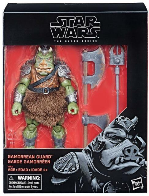 "Star Wars Hasbro Black Series 6"" Inch Gamorrean Guard Action Figure Fast Ship"
