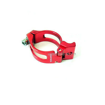 CONTROL Front Derailleur Forged Clamp 34.9mm RED MR CL-FDG3