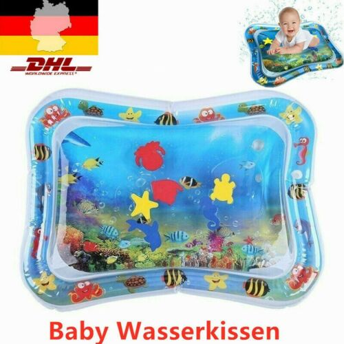 66 x 50 cm Baby Wasserkissen Spielmatte Aufblasbare Früherzieh Spielzeug DE