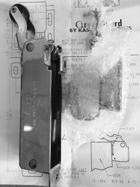 WALK IN COOLER FREEZER DOOR CLOSER KASON 1094 FLUSH Heavy Duty Closer