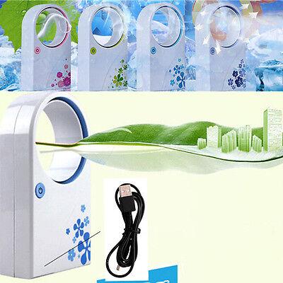 PORTABLE HANDHELD AIR CON AIR CONDITIONER DESKTOP FAN COOLER USB MINI OL USD