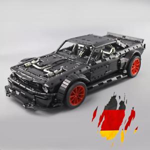 Custom-Technic-Mustang-Hoonicon-V2-42056-42083-Bloecke-Bausteine-MOC-3-176-Teile