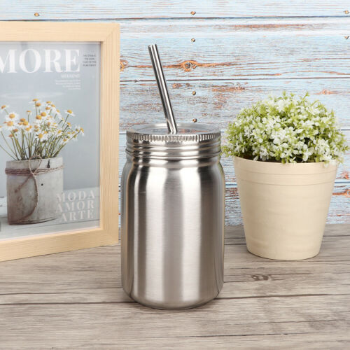 Details about  /Water Jar Lightweight 700ml Water Bottle with Lid Straw for Office Home Travel